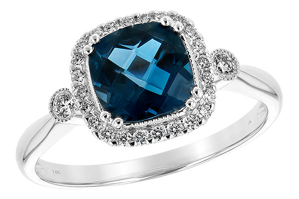 A216-56299: LDS RG 1.62 LONDON BLUE TOPAZ 1.78 TGW