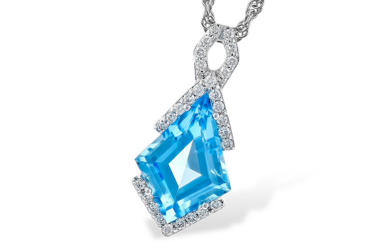 A300-20826: NECK 2.40 BLUE TOPAZ 2.53 TGW