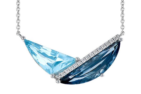 C300-21789: NECK 4.66 BLUE TOPAZ 4.75 TGW