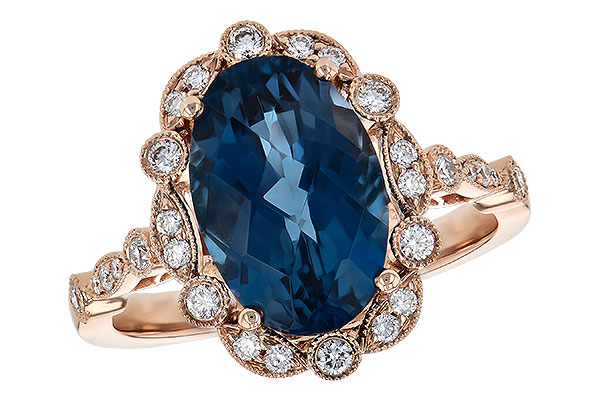 D217-48162: LDS RG 3.80 LONDON BLUE TOPAZ 4.06 TGW