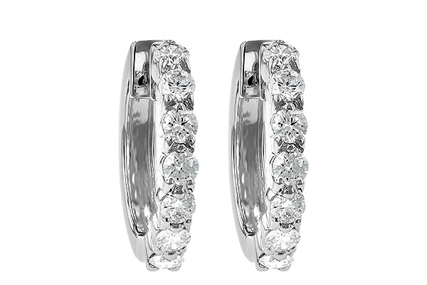 G028-39925: EARRINGS 1.00 CT TW