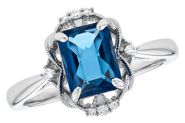 G300-21762: LDS RG 1.70 LONDON BLUE TOPAZ 1.76 TGW