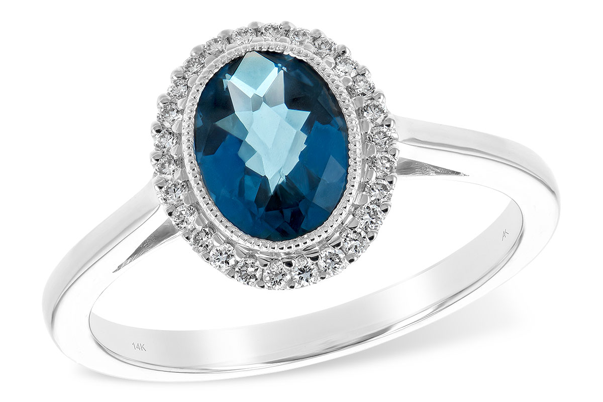 L216-56298: LDS RG 1.27 LONDON BLUE TOPAZ 1.42 TGW