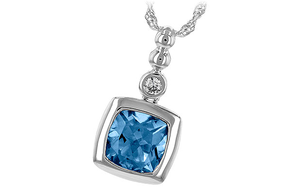 M216-59952: NECK 1.45 BLUE TOPAZ 1.49 TGW