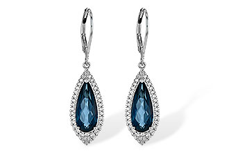 L217-47189: EARR 5.05 LONDON BLUE TOPAZ 5.42 TGW